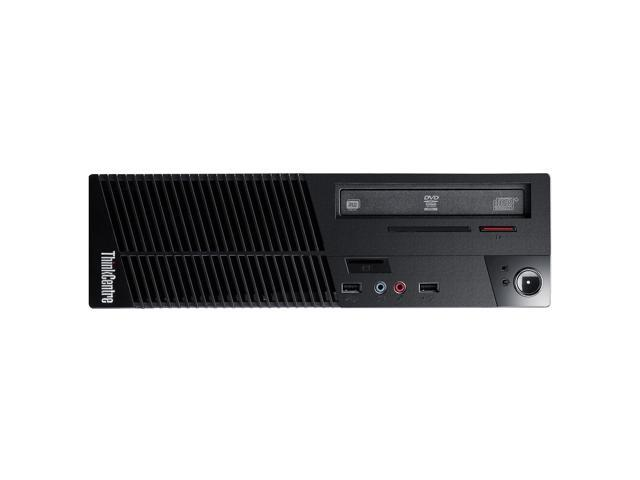 Lenovo ThinkCentre 10B60013US Desktop Computer - Intel Core i3 i3-4130 3.40 GHz - Small Form Factor - Business Black