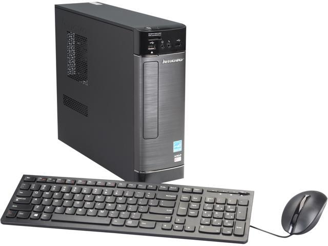 Lenovo Desktop PC H515s 57328086 E Series E1-2500 (1.40 GHz) 4 GB DDR3 500 GB HDD AMD Radeon HD 8240 Windows 8.1 64-bit