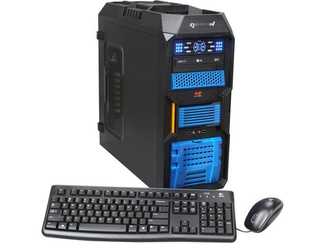 CybertronPC Desktop PC Kombat-X (TGM4242E) AMD FX-Series FX-6100 (3.3 GHz) 16 GB DDR3 1 TB HDD Dual AMD Radeon HD 6670 1GB Windows 8 64-Bit
