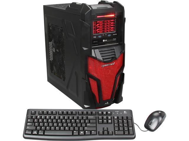 CybertronPC Desktop PC Mechatron (TGM4242Q) AMD FX-Series FX-8120 (3.1 GHz) 16 GB DDR3 1 TB HDD Dual AMD Radeon HD 7770 1GB Windows 8 Pro 64-Bit