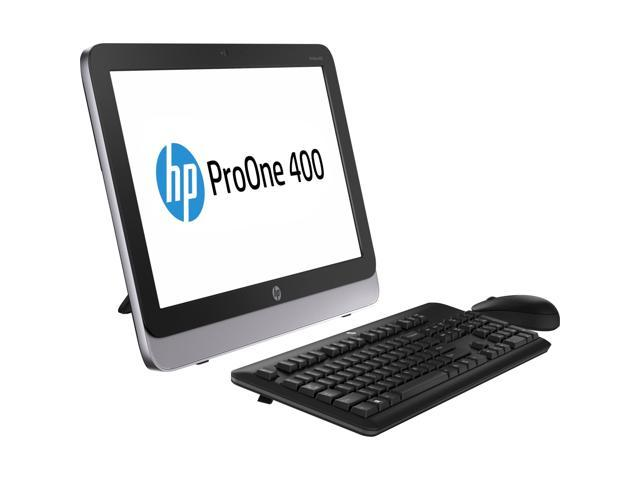 "HP All-in-One PC Business Desktop 400 (F4K74UT#ABA) Intel Core i3 4330T (3.0 GHz) 4GB 500 GB HDD 21.5"" Touchscreen Windows ..."