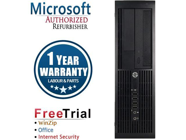 HP Desktop Computer Pro 4000 Pro-SFF Pentium E5800 (3.20 GHz) 2 GB DDR3 80 GB HDD Intel GMA 4500 Windows 10 Pro