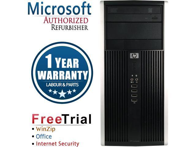 HP Desktop Computer 6000 Pro-Tower Core 2 Duo E8400 (3.00 GHz) 4 GB DDR3 250 GB HDD Intel GMA 4500 Windows 10 Pro