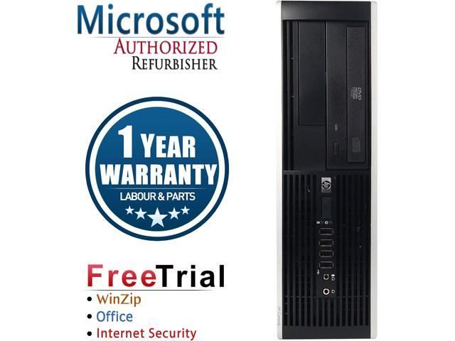 HP Desktop Computer Elite 8100-SFF Intel Core i5 650 (3.20 GHz) 4 GB DDR3 1 TB HDD Intel HD Graphics Windows 10 Pro