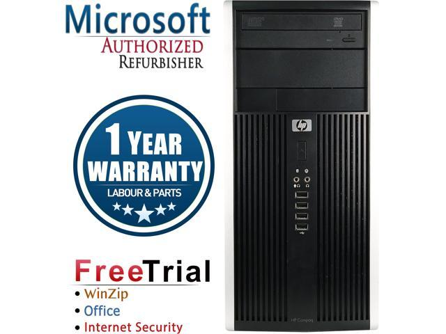 Refurbished HP Compaq Pro 6200 Tower Intel Core i3 2100 3.1G / 4G DDR3 / 2 TB / DVD / Windows 7 Professional 64 Bit / 1 Year Warranty