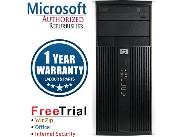 Refurbished HP Compaq Pro 6200 Tower Intel Core i3 2100 3.1G / 8G DDR3 / 320 GB / DVD / Windows 7 Professional 64 Bit / 1 Year Warranty