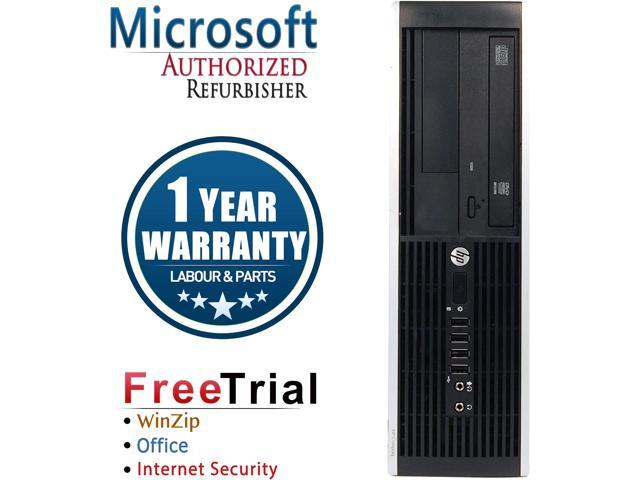 Refurbushed HP Compaq Pro 6305 SFF AMD A4-5300B 3.4G / 8G DDR3 / 320G / DVD / Windows 7 Professional 64 Bit / 1 Year Warranty