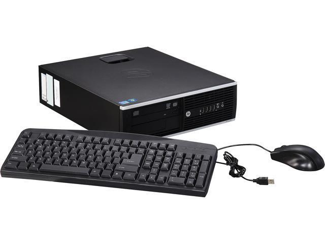 HP A Grade Desktop Computer 6200 PRO Intel Core i3 2nd Gen 2100 (3.10 GHz) 8 GB DDR3 250 GB HDD Windows 7 Professional