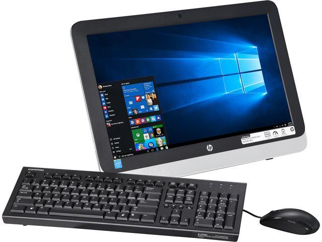 HP All-in-One Computer 22-3116 Celeron N3050 (1.60 GHz) 4 GB 500 GB HDD 21.5
