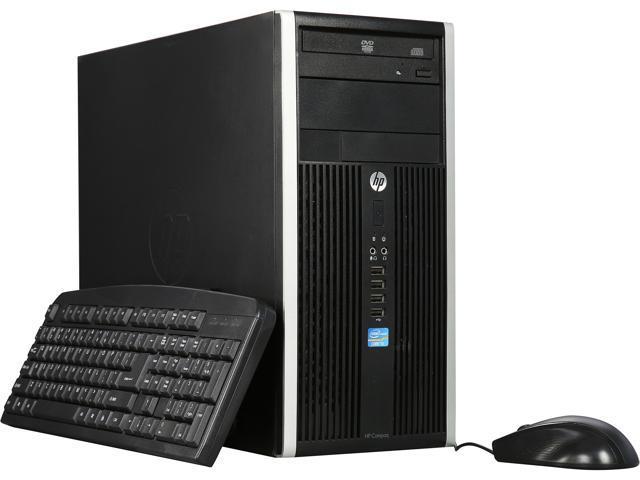 HP Desktop Computer 6300 Pro Intel Core i3 3rd Gen 3220 (3.30 GHz) 8 GB 500 GB HDD Intel HD Graphics 2500 Windows 7 Professional