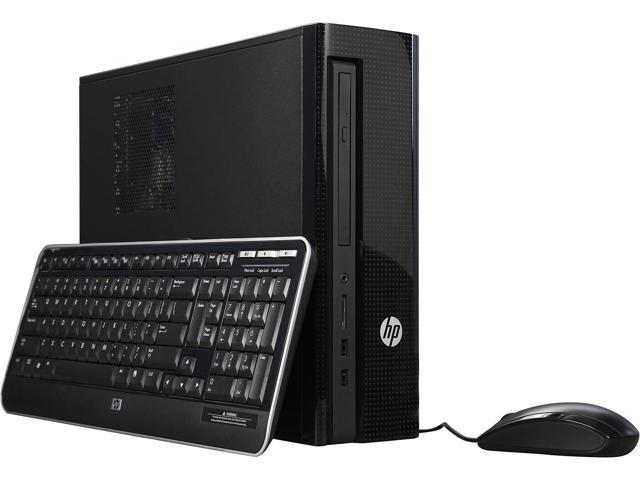 HP Desktop Computer Slimline 450-A30 E Series E1-6015 (1.40 GHz) 4 GB 500 GB HDD AMD Radeon R2 Windows 10 Home