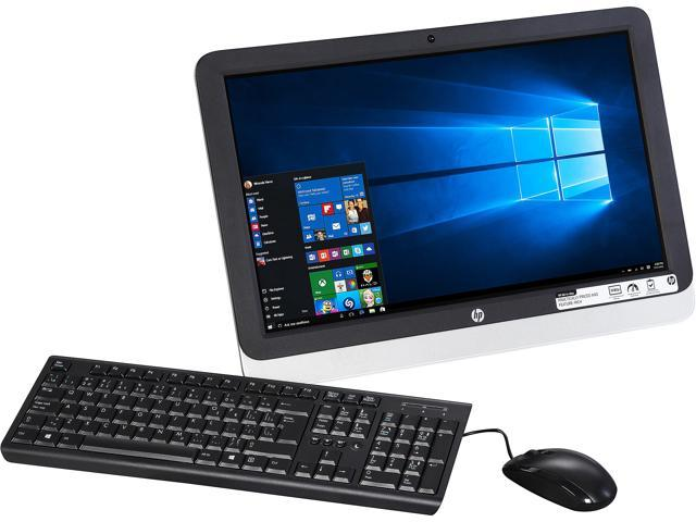 HP All-in-One Computer 22-3120 A6-Series APU A6-6310 (1.80 GHz) 4 GB 1 TB HDD 21.5