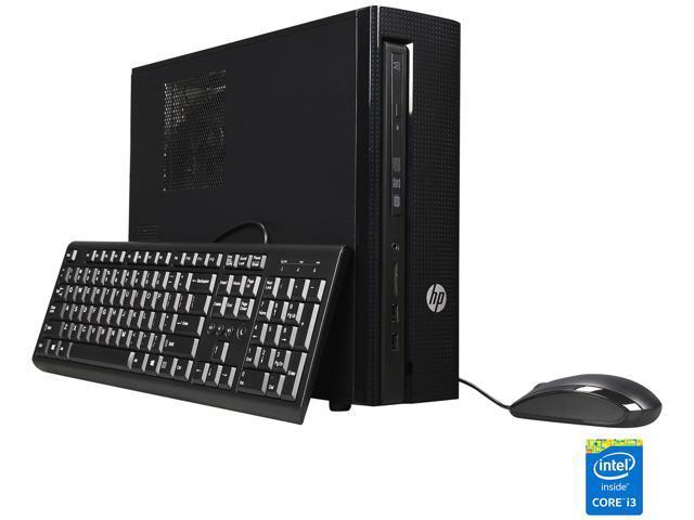 HP Desktop Computer 410-017C Intel Core i3 4th Gen 4170 (3.70 GHz) 8 GB 1 TB HDD Windows 10 Pro