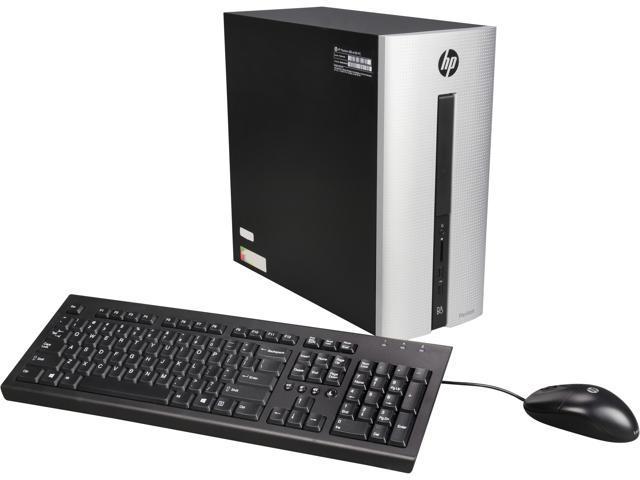 HP A Grade Desktop Computer Pavilion 550-A114 A8-Series APU A8-6410 (2.00 GHz) 8 GB 1 TB HDD AMD Radeon R5 Windows 10 Home