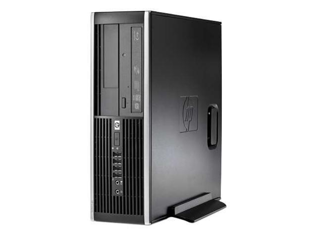 HP 6300 Small Form Factor Pentium 2.8 GHz 4GB 250GB Hard drive Windows 7 Profe, Black (Refurbished)