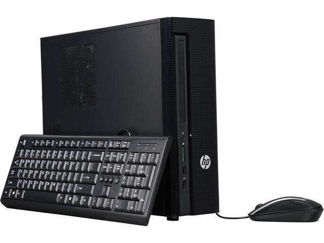HP Desktop PC Slimline 450-019 Intel Core i3 4th Gen 4160 (3.60 GHz) 8 GB DDR3 1 TB HDD Intel HD Graphics 4400 Windows 10 Pro
