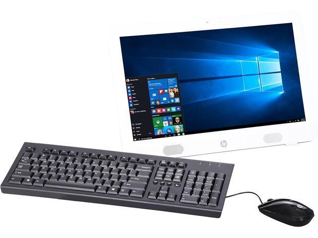 HP All-in-One Computer 20-E019 E Series E1-6010 (1.35 GHz) 4 GB DDR3 500 GB HDD 19.45