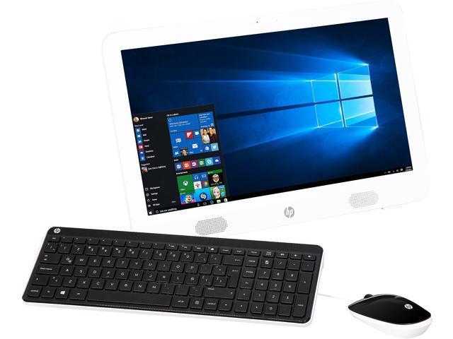 HP All-in-One Computer 20-E003LA E Series E1-6010 (1.35 GHz) 4 GB DDR3 1 TB HDD 19.45