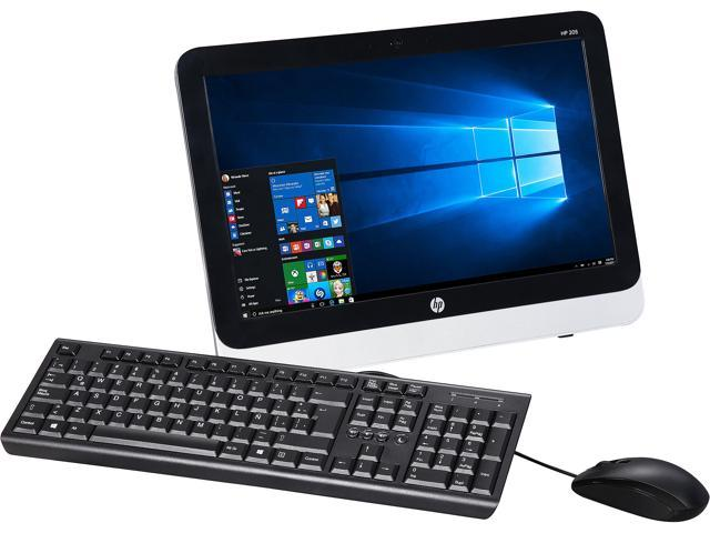 HP All-in-One Computer 205 G2 E Series E1-6010 (1.35 GHz) 4 GB 500 GB HDD 18.5