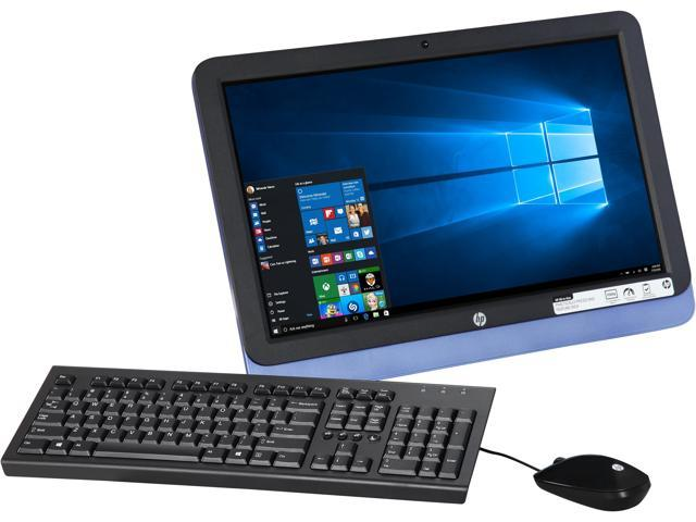 HP All-in-One Computer 22-3130 A6-Series APU A6-6310 (1.80 GHz) 4 GB DDR3 1 TB HDD 21.5
