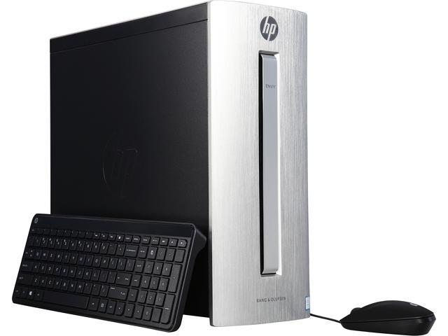 HP Desktop Computer ENVY 750-150 Intel Core i7 6th Gen 6700 (3.4 GHz) 16 GB DDR3L 1 TB HDD 128 GB SSD NVIDIA GeForce GTX 960 Windows 10 Home 64-Bit