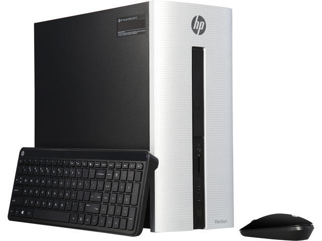 HP Desktop Computer Pavilion 550-A122 A8-Series APU A8-7410 (2.20 GHz) 8 GB DDR3 1 TB HDD AMD Radeon R5 Windows 10 Pro 64-Bit