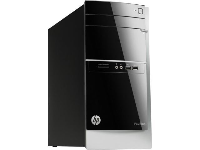HP Pavilion 500-023W Intel Core i3-3240 X2 3.4GHz 8GB 1TB Win8,Black(Refurbished)