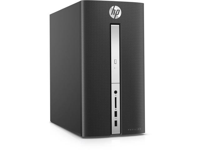 HP Pavilion 510-P030 Intel Core i7-6700T X4 2.8GHz 12GB 1TB Win10,Black(Certified Refurbished)