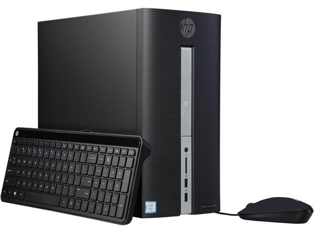 HP Desktop PC Pavilion 510-P136 Intel Core i7 6th Gen 6700T (2.80 GHz) 8 GB DDR4 1 TB HDD Intel HD Graphics 530 Windows 10 Home 64-Bit