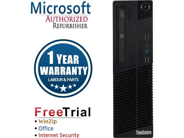 Lenovo Desktop Computer ThinkCentre M81 Intel Core i5 2nd Gen 2400 (3.10 GHz) 4 GB DDR3 1 TB HDD Intel HD Graphics 2000 Windows 10 Pro