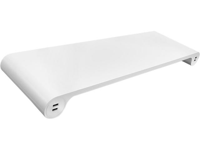 Quirky PSPBP-WH01 Spacebar POP Monitor Stand and 6-Port USB Hub