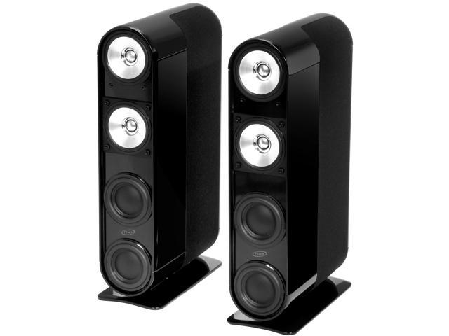 KEF FiveTwo Series MDL7 SAT BLK 5 CH Speaker System, Black Pair