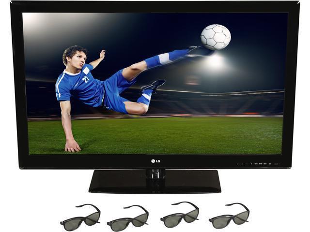 """LG 42"""" 1080p 60Hz Cinema 3D LED TV 42LM3400"""