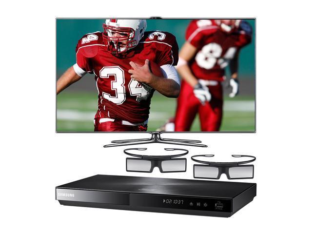 "Samsung 46"" Class (45.9"" Diag.) 1080p 240Hz LED HDTV and Blu-ray Player Bundle UN46ES7500/BD-E5900"