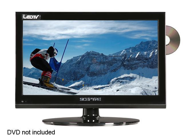 "Sceptre E195BD-SHD 19"" Black 720p LED-LCD HDTV With Built-In DVD Player"