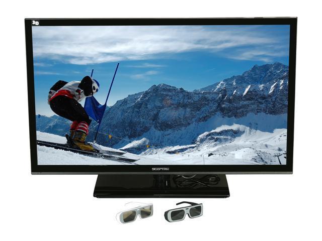 "Sceptre 42"" Class (42"" Diag.) 3-D Ready 1080p 60Hz LED HDTV E425BV-FHDD"
