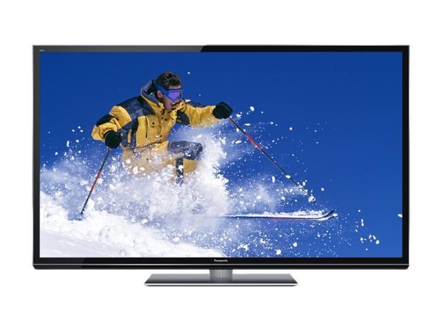 "Panasonic Viera 60"" Class (60.1"" Diag.) 1080p Full HD Smart 3D Plasma TV TC-P60GT50"