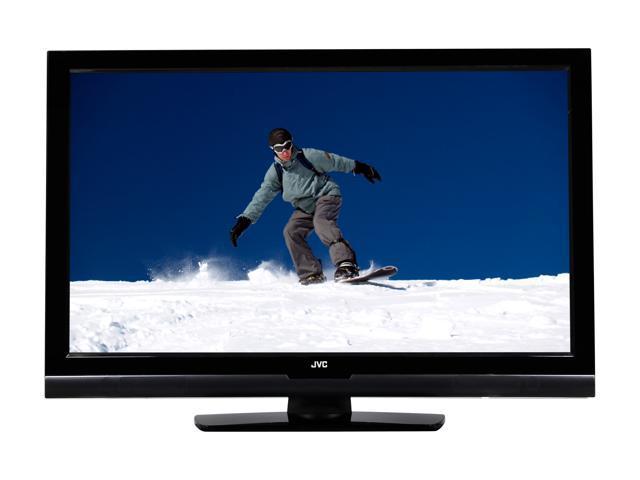 """JVC BlackCrystal 37"""" 1080p 60Hz LCD HDTV JLC37BC3000"""
