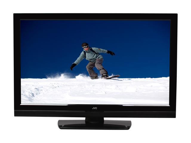 "JVC BlackCrystal 37"" 1080p 60Hz LCD HDTV, C Grade JLC37BC3000-C"