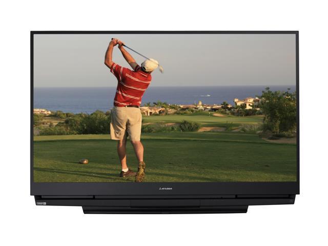 "Mitsubishi 65"" 1080p Rear-Projection DLP HDTV - WD-65733"