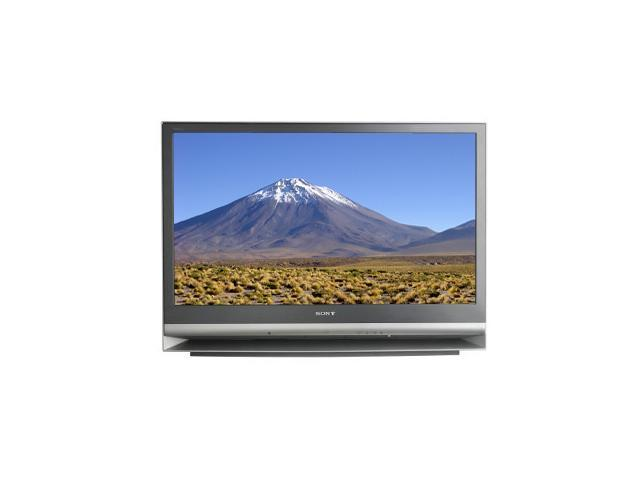 """SONY KDFE42A10 42"""" Gray 3LCD Rear Projection Television with ATSC Tuner"""