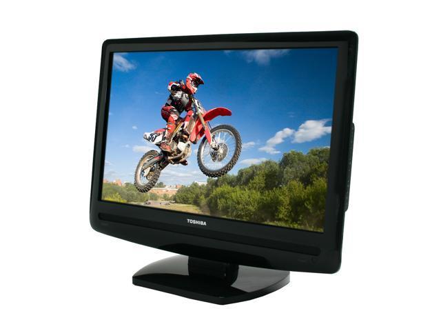 """TOSHIBA 19"""" 720p LCD HDTV 19AV500U"""