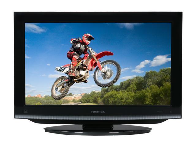 "TOSHIBA 22CV100U 22"" Black 720p LCD HDTV With Built-In DVD Player"