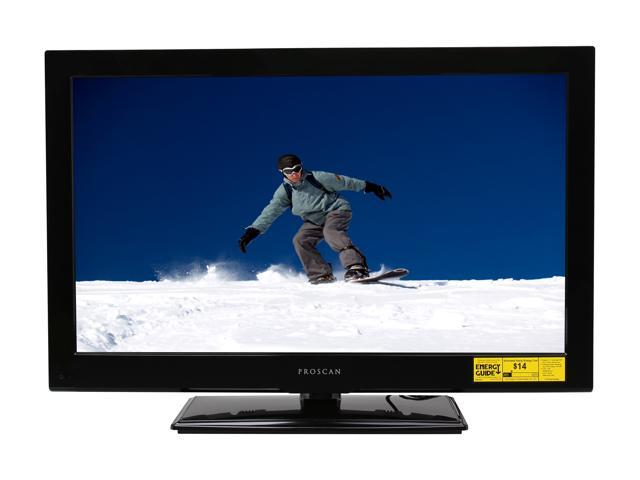 """Proscan PLCDV3213A 32"""" Black LCD TV with Built-in DVD Player"""