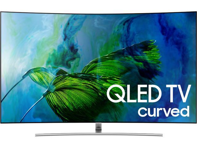 Samsung QN55Q8CAMFXZA 55-Inch 4K Ultra HD Curved QLED Smart TV with HDR Elite (2017)