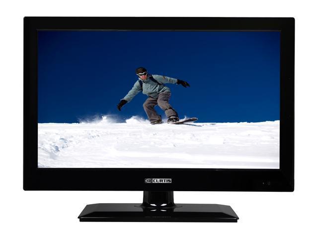 """Curtis LEDVD1945A 19"""" Black Combo TV"""