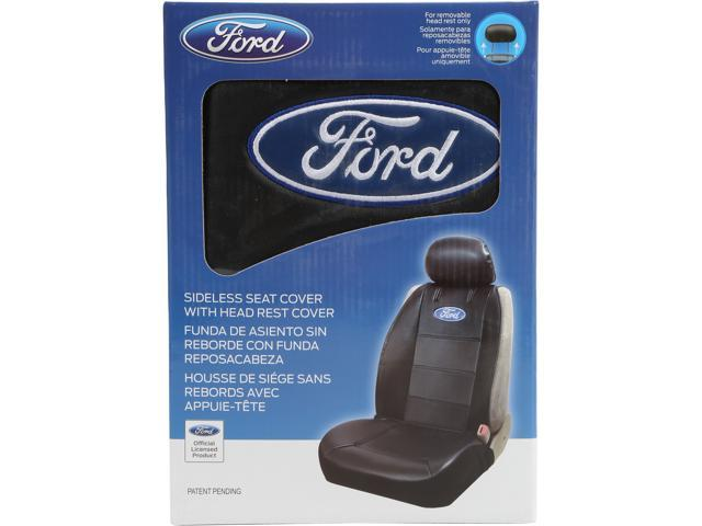 Plasticolor Ford Sideless Seat Cover With Head Rest Cover