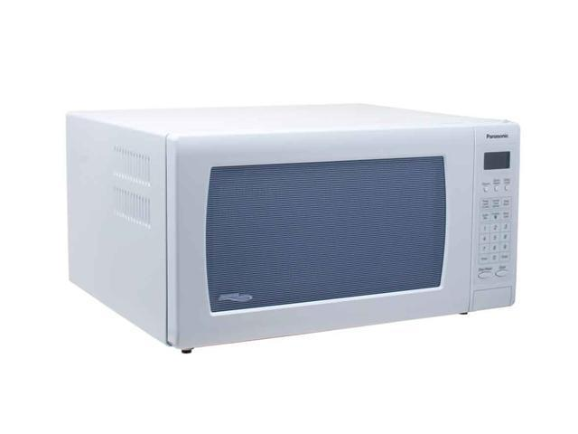 Panasonic 1250 Watts 1.6 Cu. Ft. Microwave Oven NNH765WF Sensor Cook White