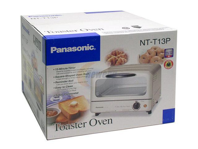 Panasonic NT-T13P Silver Toaster Oven
