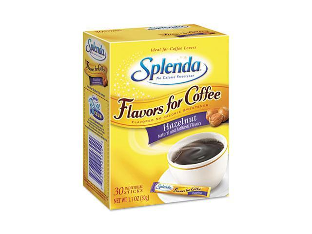 Splenda 243020 Hazelnut, Stick Packets, 30/Carton